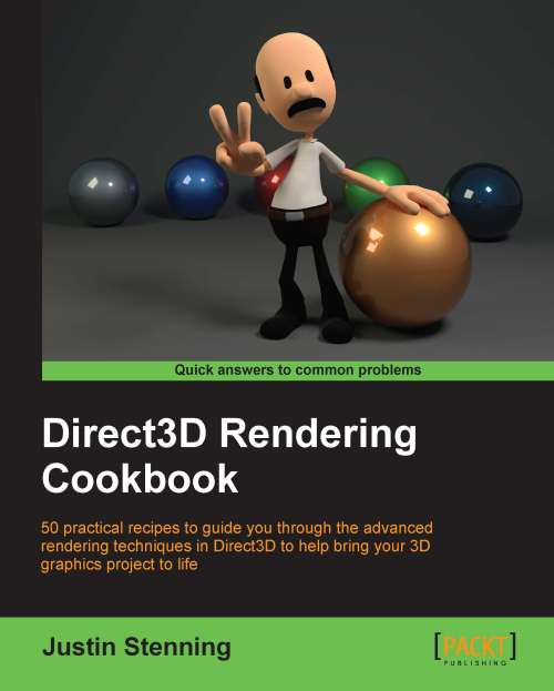 Direct3D Rendering Cookbook (font cover)