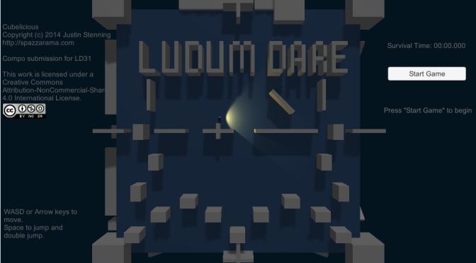 Ludum Dare 31 – Cubelicious